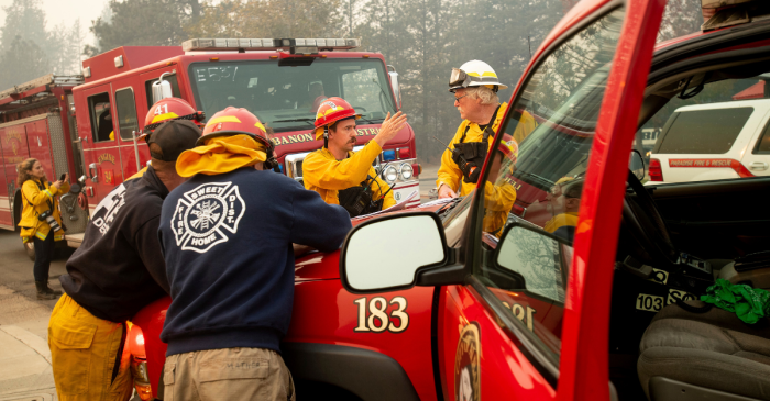 California Firefighters Struggle with the Emotion of Wildfire Rescues