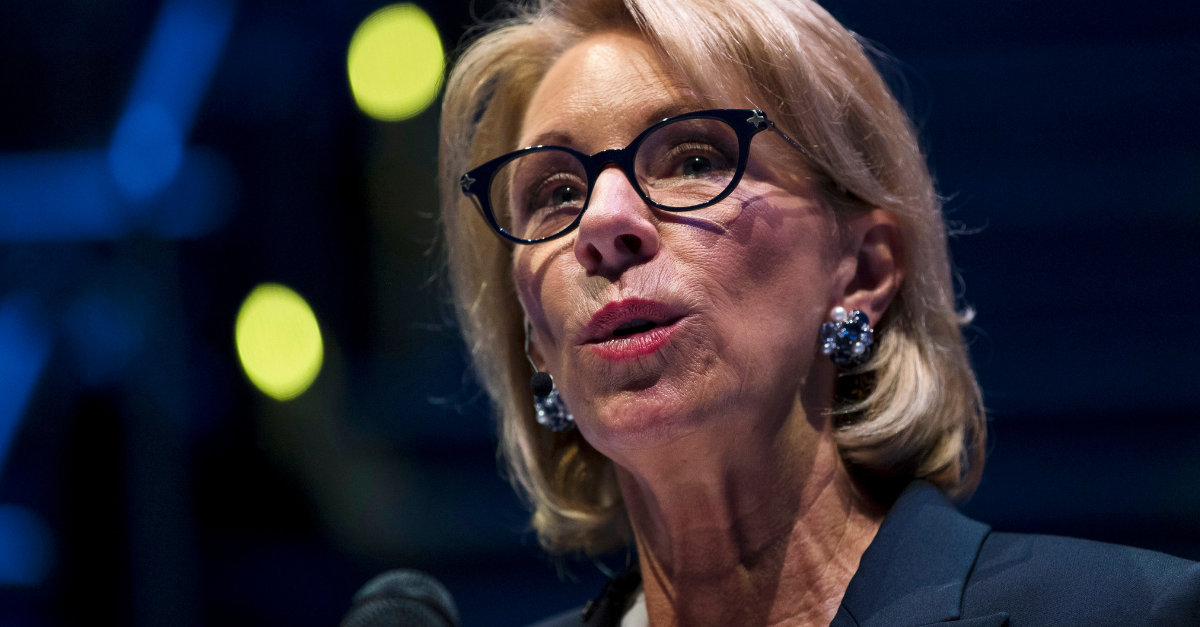 DeVos Changes Title IX Rules