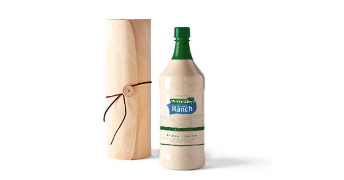 Giant Hidden Valley Ranch Bottle