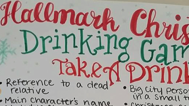 The Hallmark Christmas Movie Drinking Game Was Made for Holiday Spirits