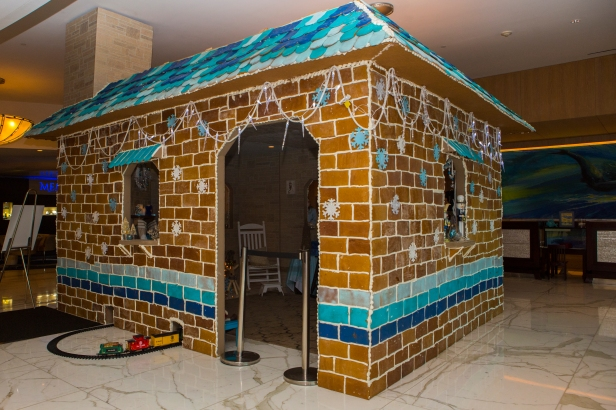 You Can Spend the Evening in this Life-Size Gingerbread House