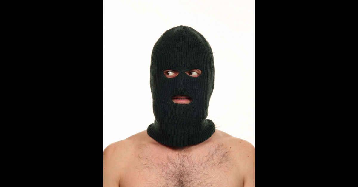Naked Burglar Georgia