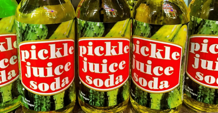 Yes, Pickle Juice Soda Is Actually Real!