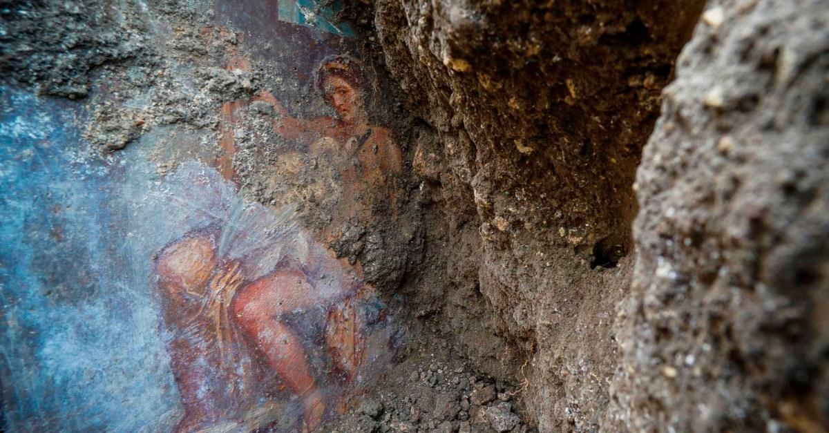 Italy Pompeii Fresco