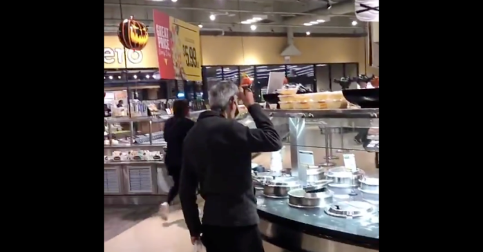 This Gross Video Will Make You Never Eat at the Grocery Salad Bar Again
