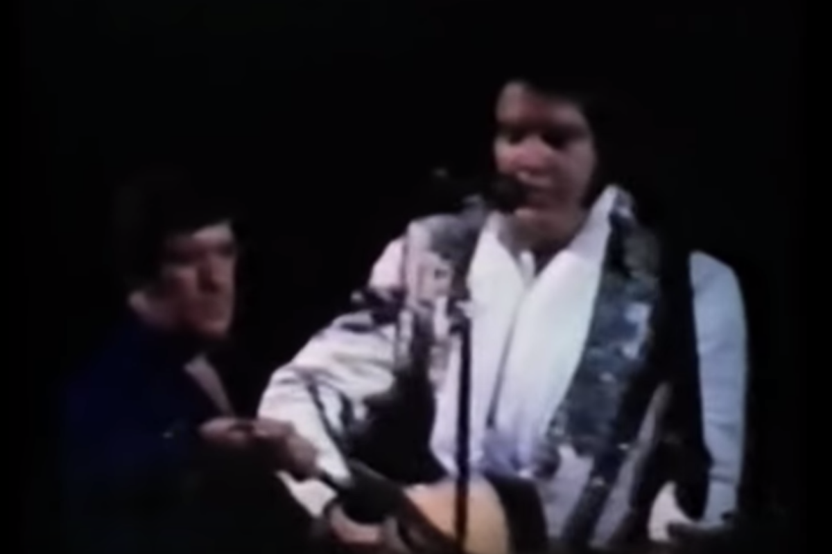 Watch Elvis Presley's Final 'Blue Christmas'Performance Recorded Right Before His Death