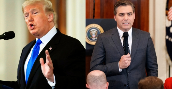 CNN Sues President Trump Demanding Return of Jim Acosta to White House