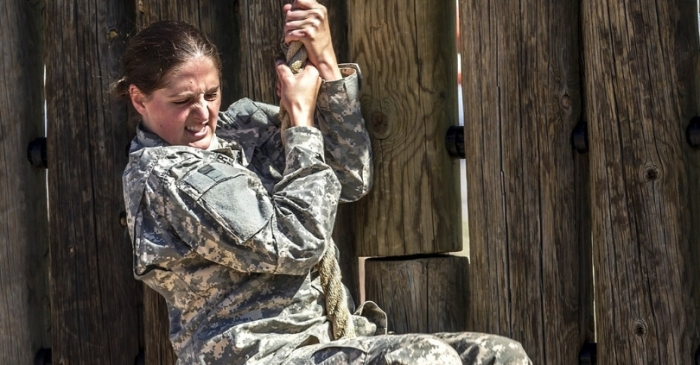 First Female Soldier Passes Initial Army Special Forces Test