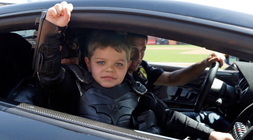 5-Year-Old Batkid Miles Scott is Healthy and Thriving Now Cancer-Free