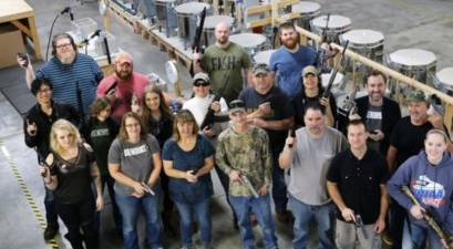 Company Buys Handguns For Every Employee As Christmas Present