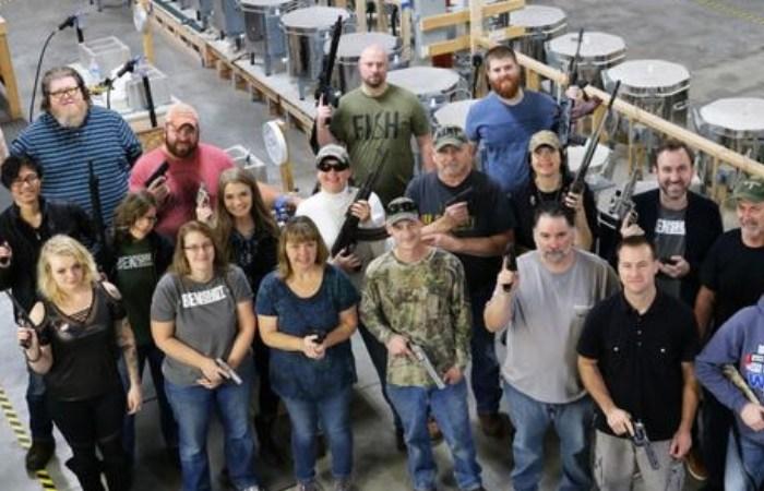 Company Gives Employees Handguns As Christmas Present