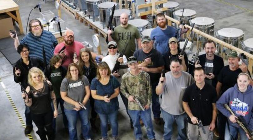 Company Buys Handguns For Every Employee As Christmas Present