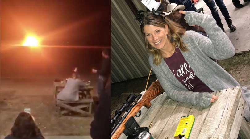 Texas Woman Celebrates Divorce By Blowing Up Her Wedding Dress