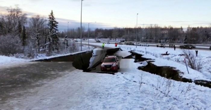 Large Earthquake Strikes in Alaska, Triggers Tsunami Warning