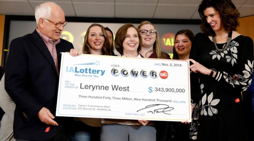 Iowa Winner Claims $343 Million Powerball Jackpot!