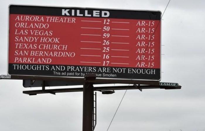 Boulder Woman Buys Billboard To Show Gun Violence Statistics