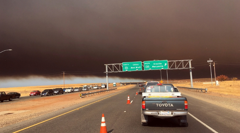 Northern California Fire Forces Tens of Thousands to Evacuate