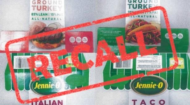 UPDATE: Jennie-O Recalls 91,388 Pounds of Raw Ground Turkey Amid Salmonella Outbreak