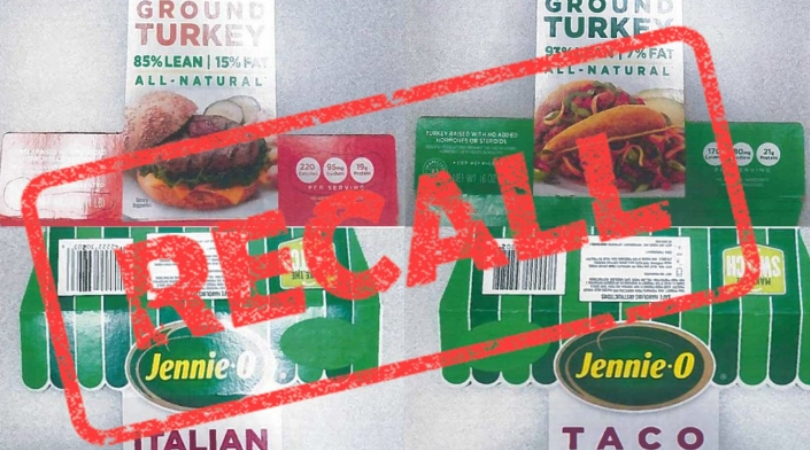 UPDATE: Jennie-O Recalls 91,388 Pounds of Raw Ground Turkey Amid Salmonella Outbreak
