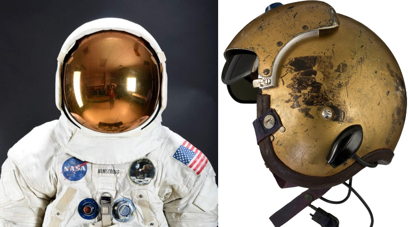 Memorabilia From Astronauts Neil Armstrong and John Glenn Up For Auction