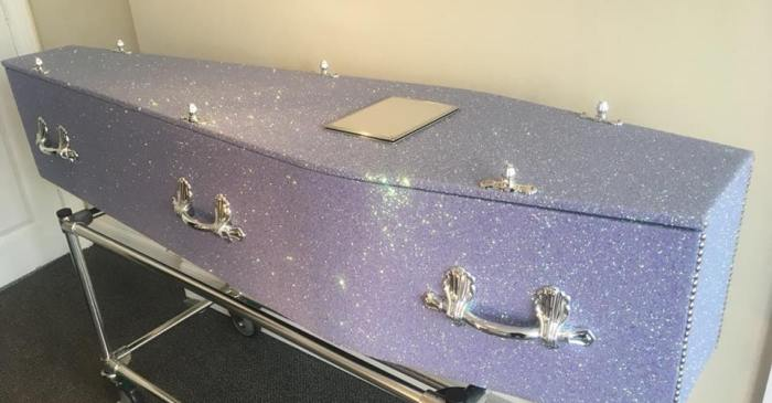 This Company Sells Glitter Coffins So You Can Go Out In Style