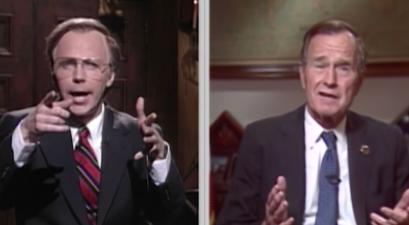 SNL George HW Bush Tribute
