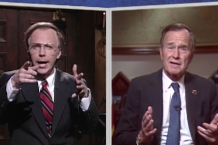 SNL's Tribute to President George H.W. Bush After His Death was Fantastic
