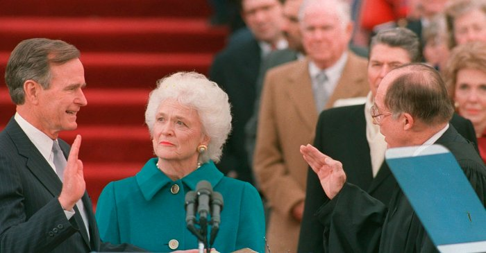 Barbara Bush's Book Reveals Her Disgust at Trump, Says George H.W. Bush Voted for Hillary