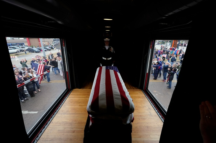 Bush's Presidential Funeral Train Is The First In Nearly 50 Years
