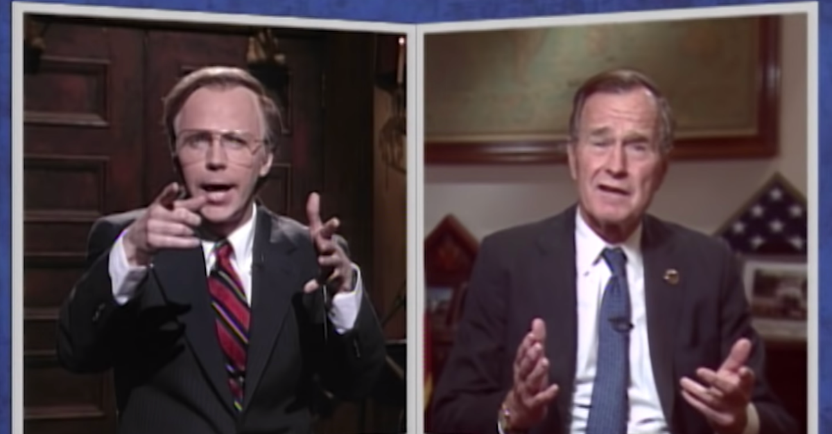 George Bush Saturday Night Live