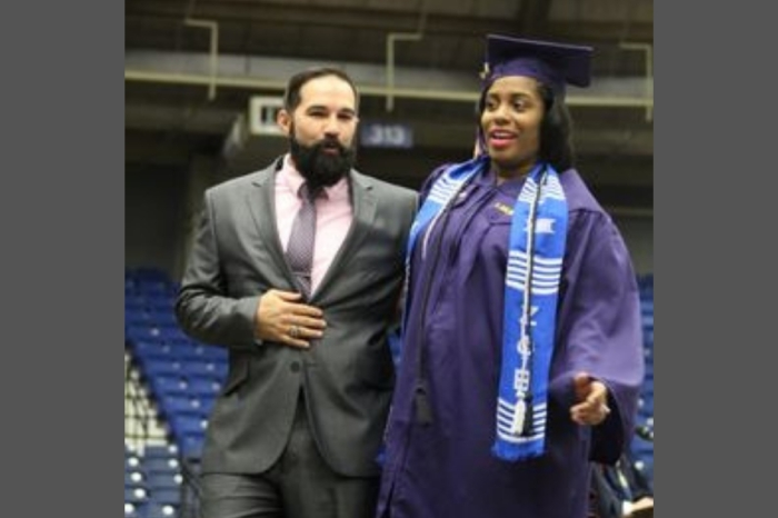 Pregnant Woman in Active Labor Crosses Stage at Graduation to Receive Diploma