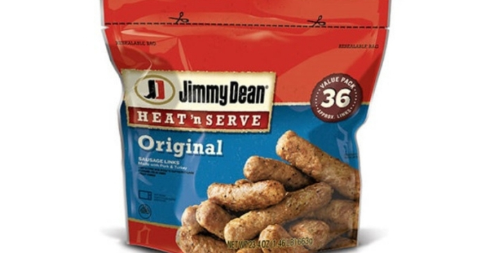 Recall Alert: 29,000 Pounds of Frozen Sausage Links May Have Metal Inside