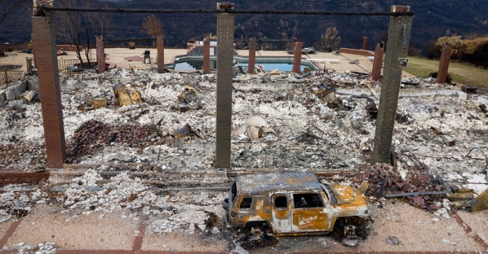 California Wildfires Cleanup to Cost at Least $3 Billion!!
