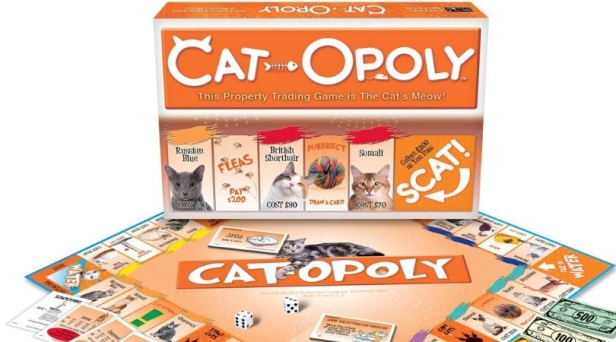 Cat-Opoly: The Monopoly Game You Never Knew You Needed!