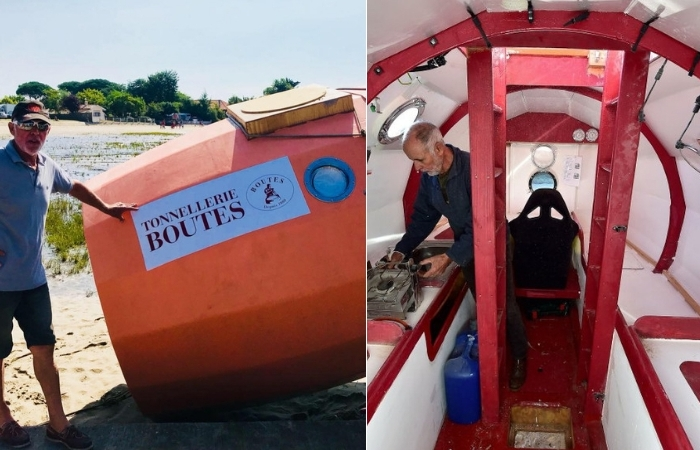 71-Year-Old Sets Sail Across The Atlantic Ocean…In A Barrel