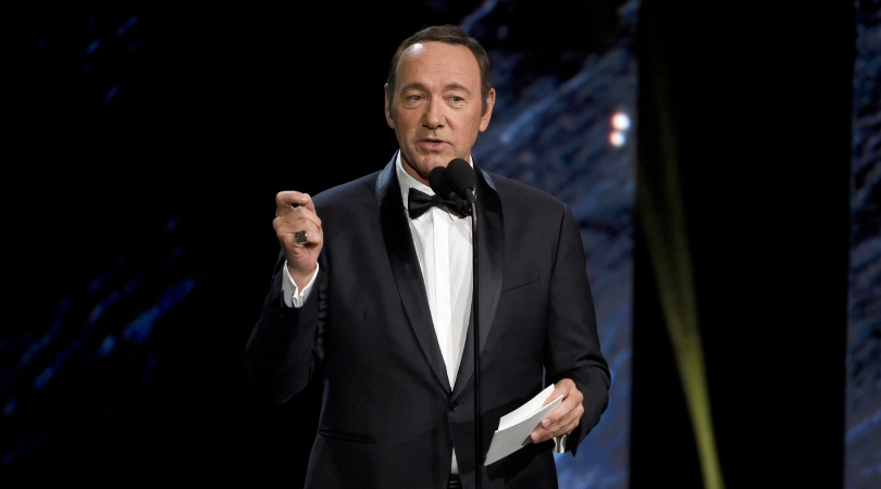 Kevin Spacey is Charged With Groping a Young Man