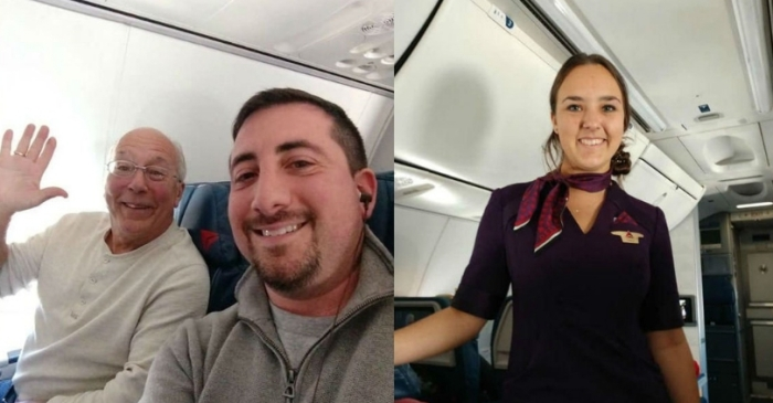 Ohio Father Books 6 Flights to Spend Christmas With Flight Attendant Daughter