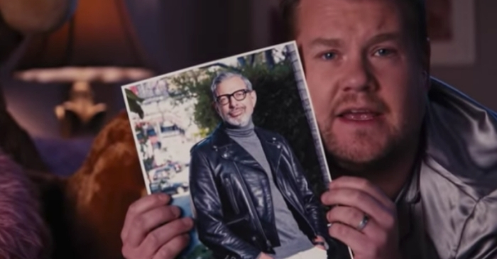 """Thank You, Jeff"": This James Corden Parody Song About Jeff Goldblum Is HILARIOUS!"