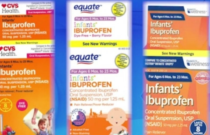 Ibuprofen Recall: 0.5 Liquid Ounce Bottles Recalled From Nationwide Drug Stores