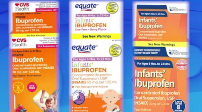 Nationwide Recall For Ibuprofen Sold At Walmart, Family Dollar and CVS