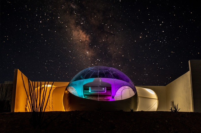 You Can Sleep Under The Stars in a Bubble at This Texas Hotel