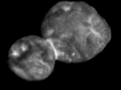 Scientists Share Space Snowman, Ultima Thule, In 3D