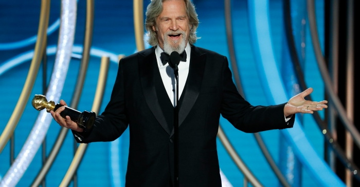 Watch: Jeff Bridges Accepts Cecil B. deMille Award With Inspiring Speech