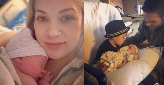 Carrie Underwood Announces Birth of Her Second Son on Instagram
