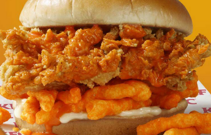 KFC is Testing Out a Cheetos Sandwich