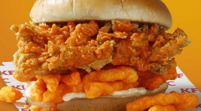 cheetos sandwich kfc