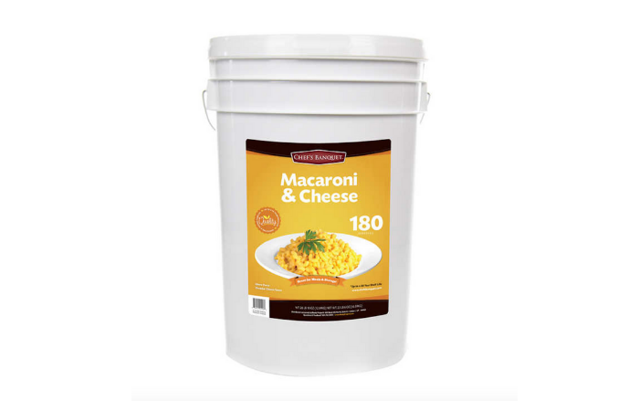 Costco is Selling a 27-Pound Tub of Mac and Cheese