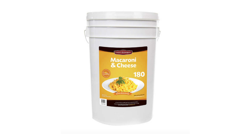 costco mac and cheese bucket