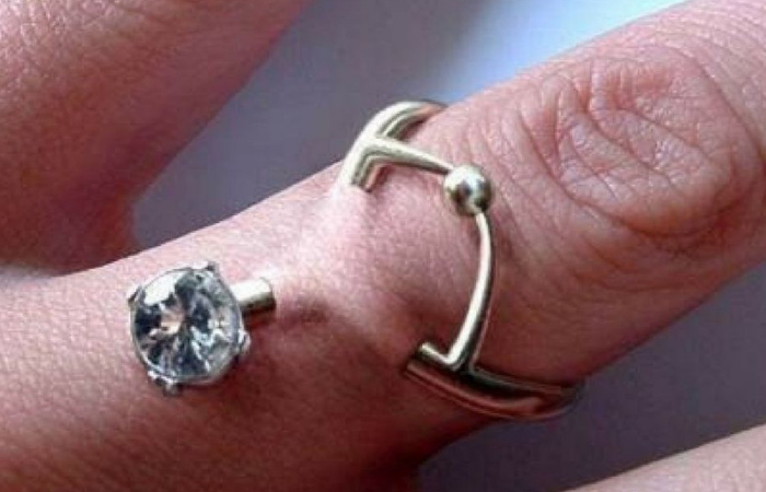 People Are Replacing Wedding Rings With Piercings and it Needs To Stop