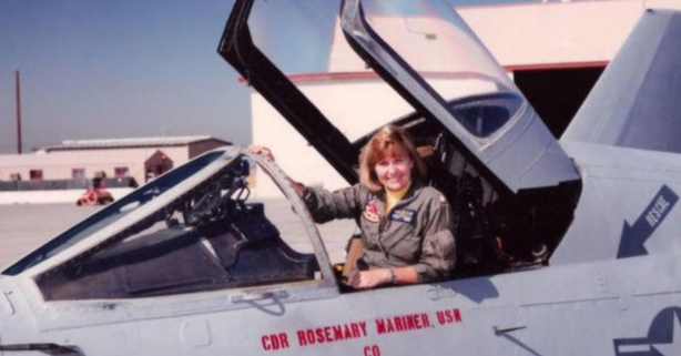 Remember When the Navy Honored Its First-Female Jet Pilot With an All-Female Flyover?